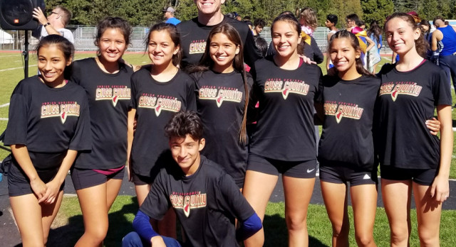 Indian Springs' girls cross country places second at league finals; Rojas, girls varsity advance to CIF Prelims