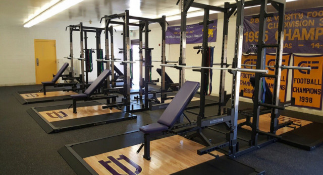 Setting Up Second Weight Room