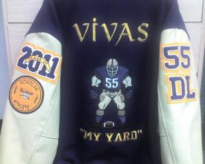 Varsity Jackets Back