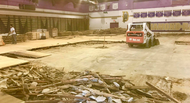 Replacing Our Gym Floor