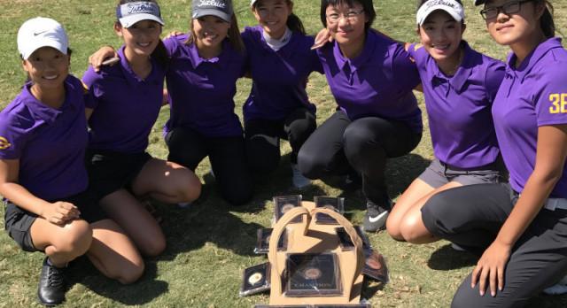 Girls golf has had a fantastic, fun two-week run