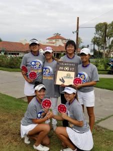 Girls Golf CIF Champions