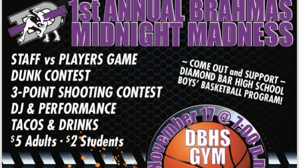 BBBall v Staff event flyer