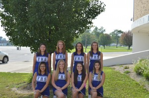 2015 Freshman Cheerleaders