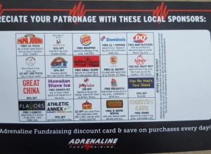 Soccer Discount Card