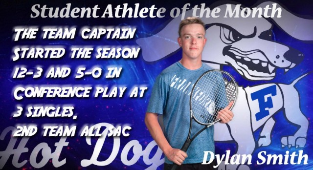 Male Student-Athlete of the Month for September