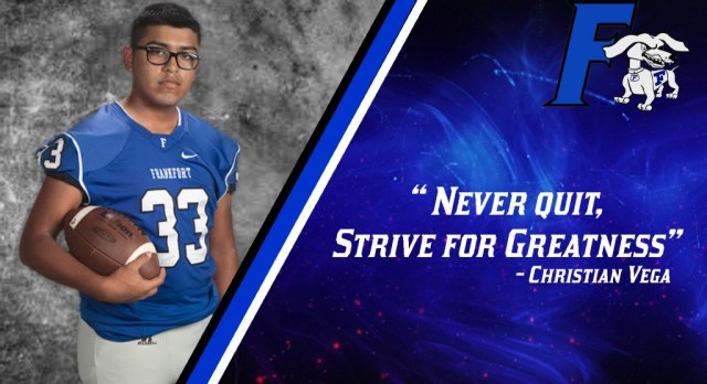 Football Senior Spotlights – Edition 5 – Christian Vega & Coach Sienicki