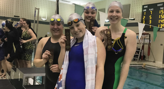 Dogs Swim well at Sectionals