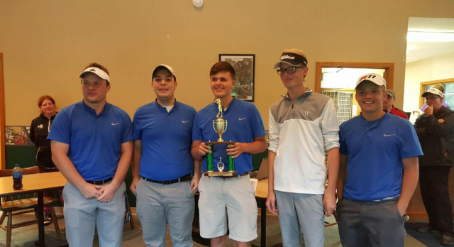 Boys Golf Captures County Title