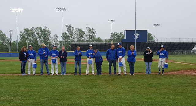 Baseball Celebrates Senior Night