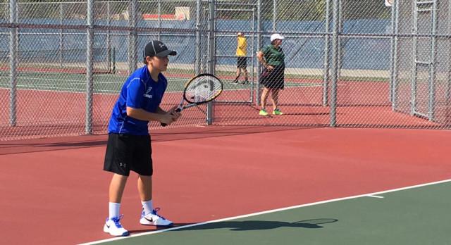 Boys Tennis Takes Down BC