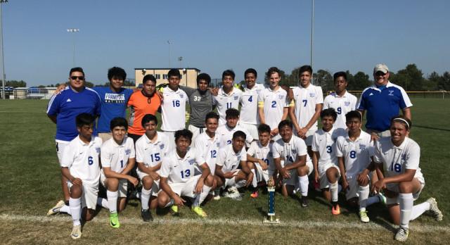 Boys Soccer Win HD Invite