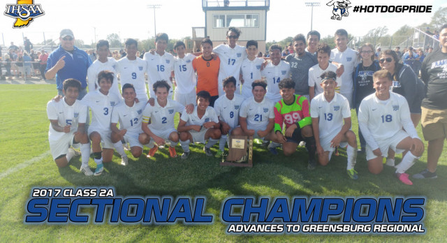 Boys Soccer Claims Sectional Title