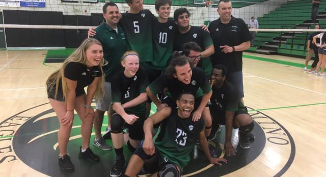 Boys Volleyball advances to face Golden Valley Thursday