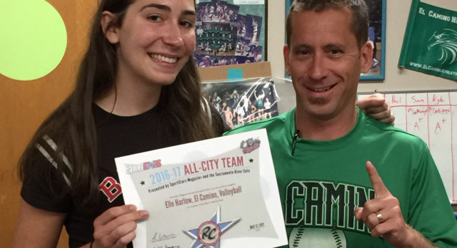 Elle Harlow honored as All-City by RiverCats and SportsStars Magazine