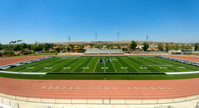 New Things for Athletics at Perris High School