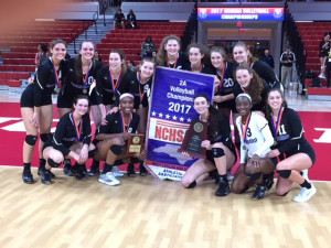 2017 Volleyball State Champs