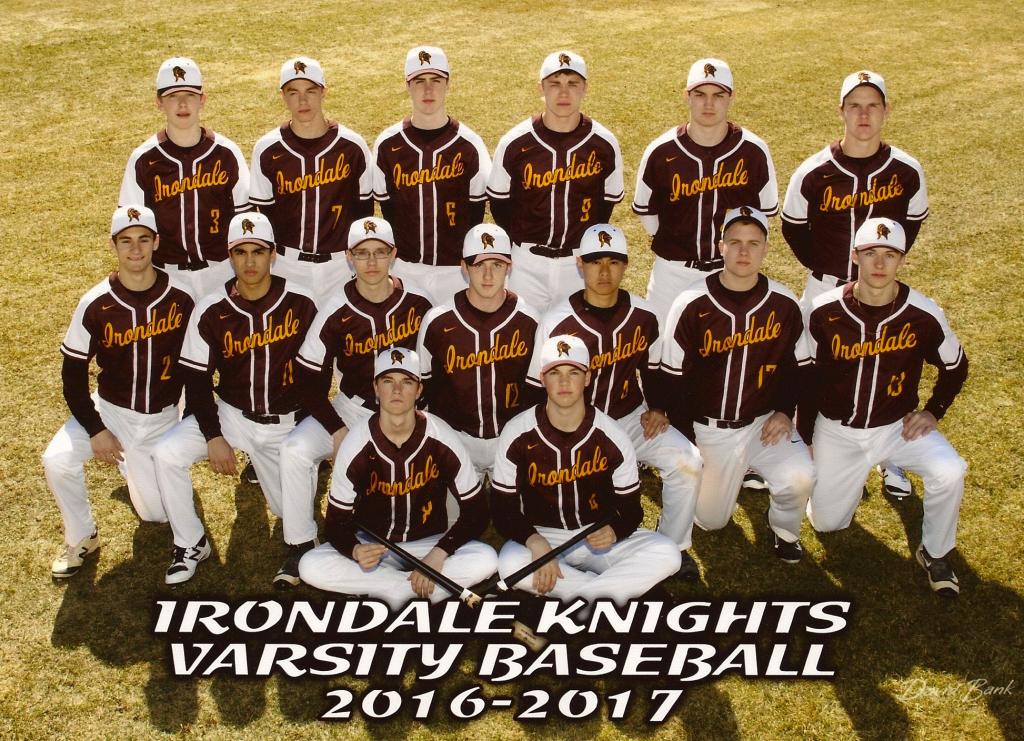 2017 IDHS Varsity Baseball team
