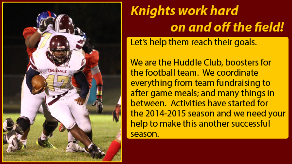 Huddle Club Meeting August 4th