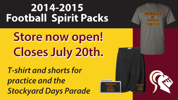 2014-2015 Football Spirit Packs
