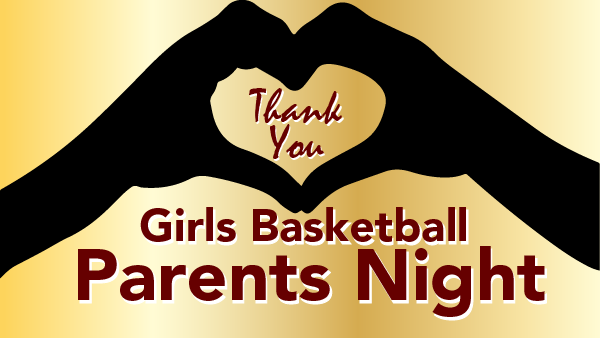 February 8th GBB Parents Night!