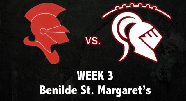 Week 3: Benilde St. Margaret's