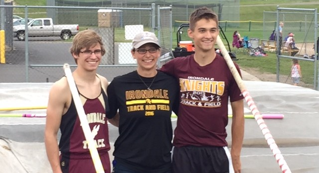 Irondale goes 1 and 2 in Pole Vault