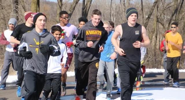 U.S.T. Mens Indoor Track Meet Line-Up