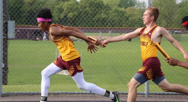 Boys Track Wins Greenslit Relays