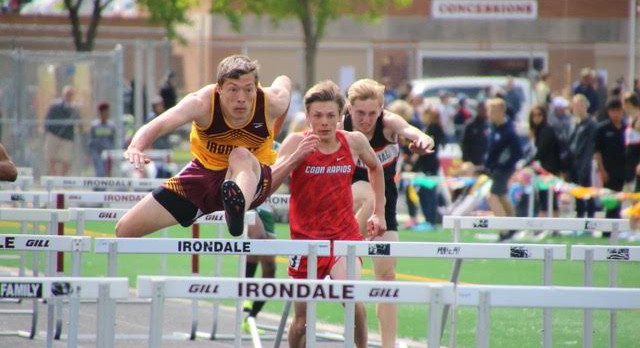 Boys Track Week 12 and Section Line-up