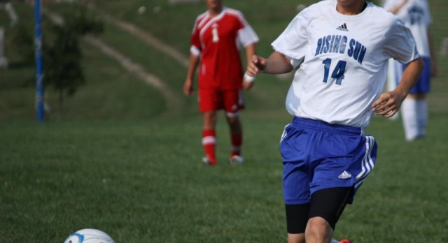 Rising Sun Soccer opens up season with BIG win!
