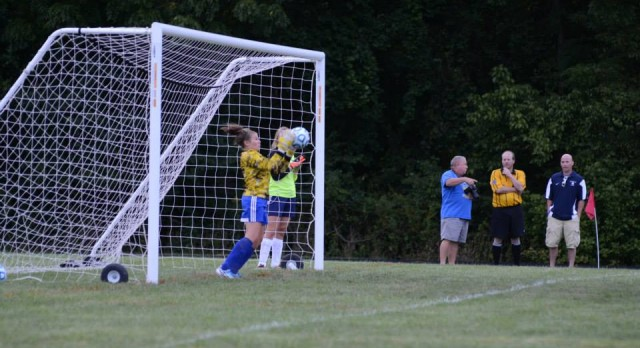 Lady Shiners Soccer loses to Lady Tigers