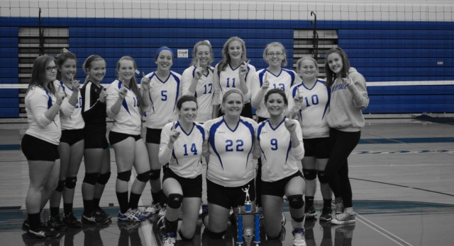 Volleyball Team Wins Invitational