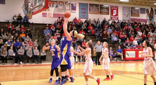 Lady Shiners downed in Sectional Semis to SW Shelby