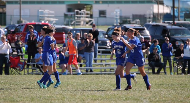 Lady Shiners Lose In Soccer Sectional Championship game