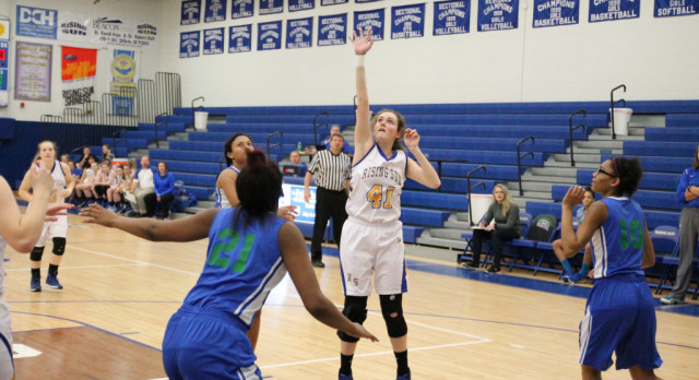 Lady Shiners Over Providence Cristo Rey