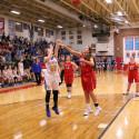 RSHS Girls Basketball VS SW Shelby 2-1-17 L44-54