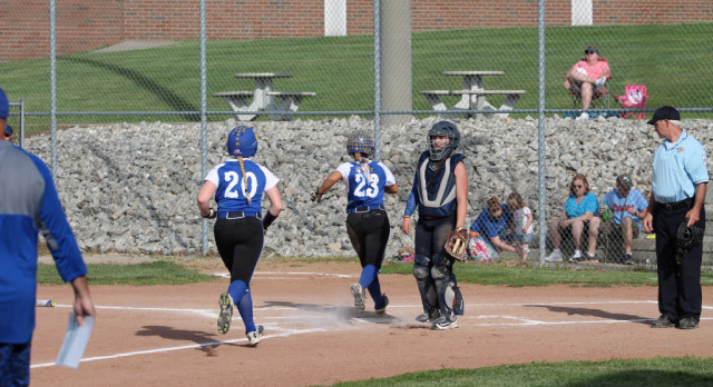 Lot of runs but Shiners beat Lady Pacers
