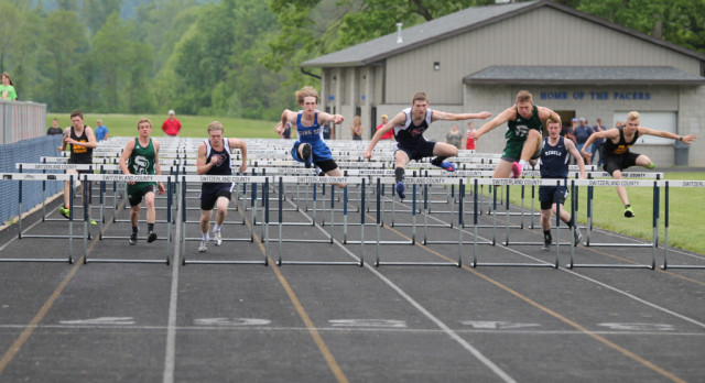 Rising Sun Track Finish 4th at ORVC conference track meet