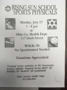 July Physicals