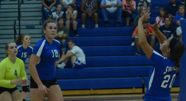 Lady Shiners Varsity Volleyball Earn Another Win