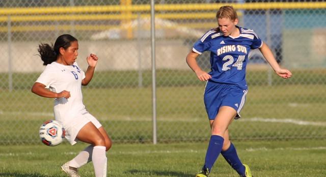 Lady Shiner Soccer dominates Greensburg
