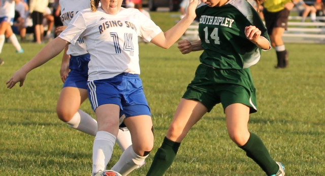Rising Sun Lady Shiners advance to Sectional Championship game