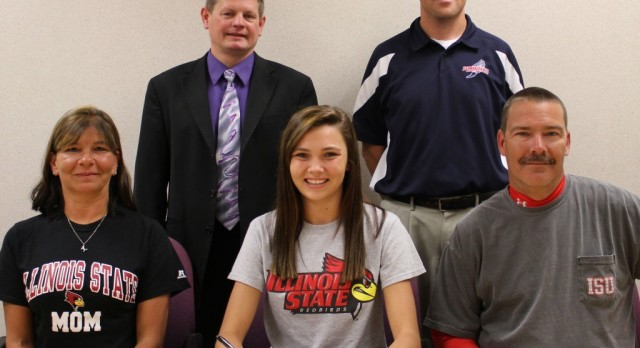 Biggs signs with Illinois State