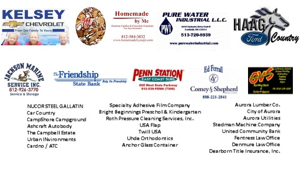 Please Support Our 2015 Sponsors!