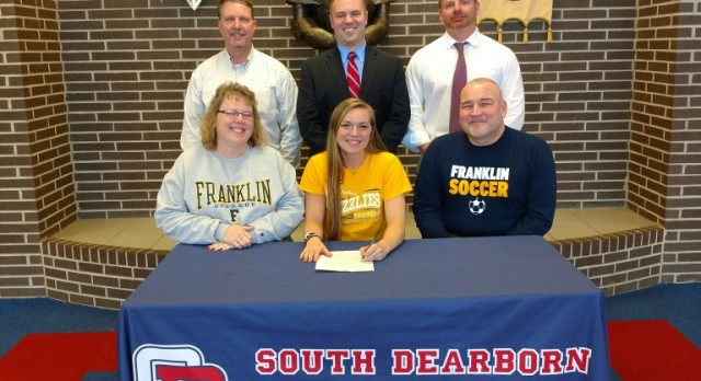 GIESTING HEADING TO FRANKLIN COLLEGE