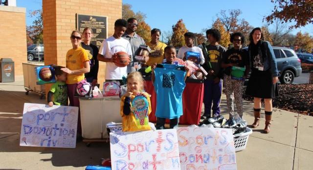 Raider Community Donates to Franklin Co. Children Services