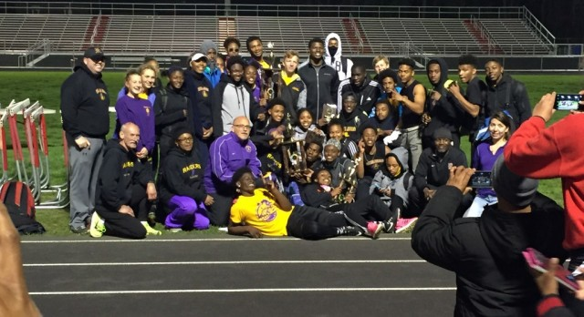 Track and Field Wins Team 1st Place!!