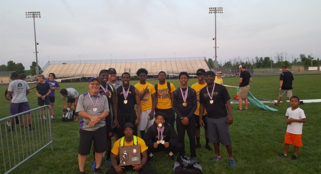 Track Boys Bring Home Regional Runner Up