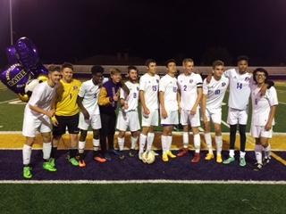 Boys Soccer Shuts Out Lancaster 3-0 on Senior Night